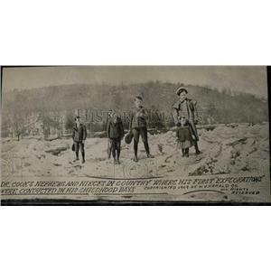 1909 Press Photo Dr Cook Family - RRW78201