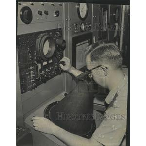 1955 Press Photo George W. Polensky Midway Airport - RRW39091