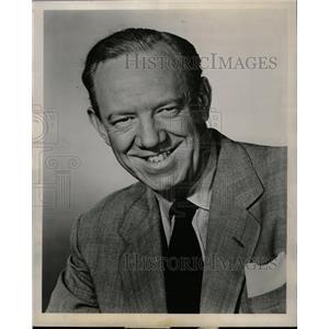 1959 Press Photo Actor Paul Hartman - RRW12713