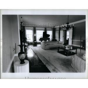 1984 Press Photo Home John B Ford III - RRX56243
