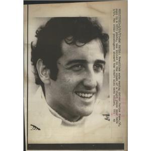 1977 Press Photo Brazilian Race Driver Carlos Pace - RSC90053