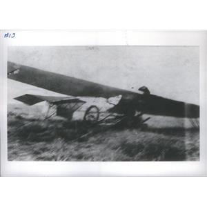 1910 Press Photo Crack-up of Cessna type plane - RSC86589