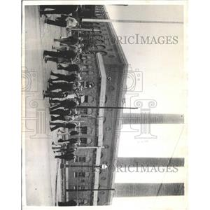 1935 Press Photo U.S PICKETERS STRIKE OHIO - RRX93623