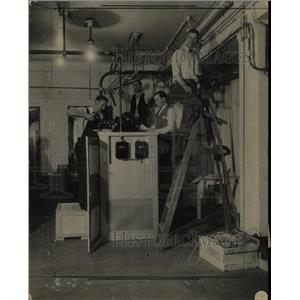 1934 Press Photo Associated Press Photo Telephoto Hall - RRX66043