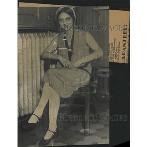 1929 Press Photo Olga Pavlovna County Jailhouse Blues - RRX87531