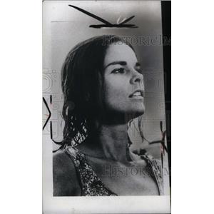 1971 Press Photo All Mac Shaw Actress model west - RRX44773
