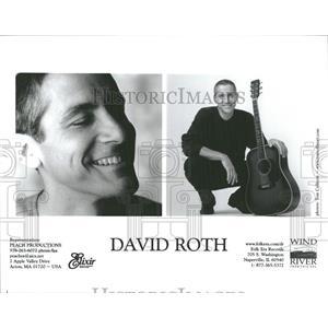 None Press Photo David Roth Musician
