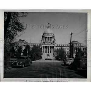 1945 Press Photo Jackson Mississippi State Capital Bldg - RRX78173