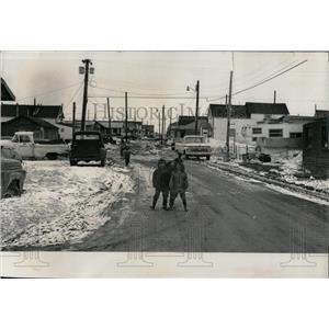 1971 Press Photo Nome: The Last Frontier