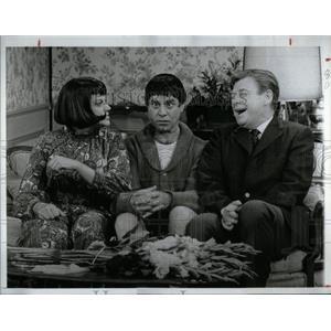 1968 Press Photo Kaye Ballard Jerry Lewis Show Comedian - RRX24031