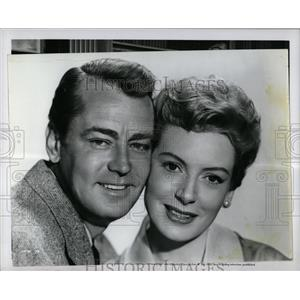 1953 Press Photo Alan Ladd American Film Actor - RRX67399