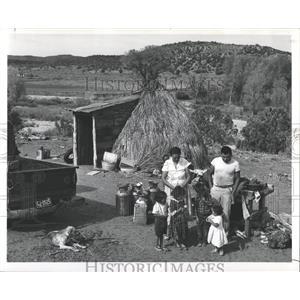 1960 Press Photo Cibecue Creek Indians Apache - RRX81071