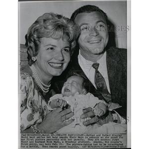 1959 Press Photo Actress Jane Blair Family - RRW20933