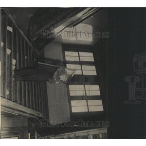 1933 Press Photo Court House Staircase Fort form - RRX95335
