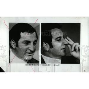 1969 Press Photo Danny Thomas American nightclub Actor - RRW69461