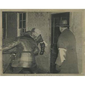 1937 Press Photo Fansteel Metallurgical Plant Protest