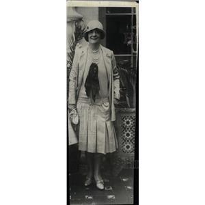 1929 Press Photo Randolph WM Hearst Havana Cuba Paper - RRW79129