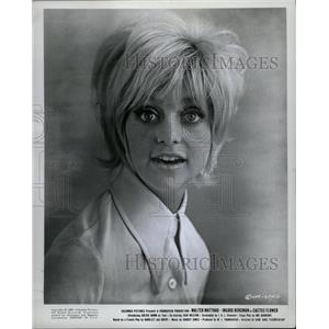 1969 Press Photo Cactus Flower Film Actress Hawn Promo - RRW08569