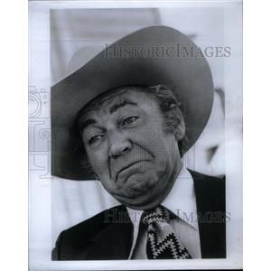 1972 Press Photo Forrest Tucker Actor - RRX49047
