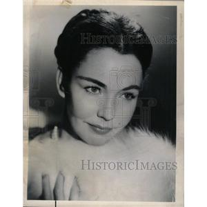 1963 Press Photo Jennifer Jones