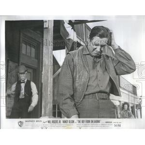 """1954 Press Photo Actor Will Rogers in """"The Boy From Oklahoma."""" - RSC47205"""