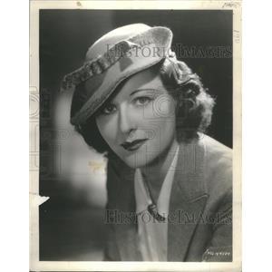 1936 Press Photo Bee Roberts (Film Actress) - RSC44689