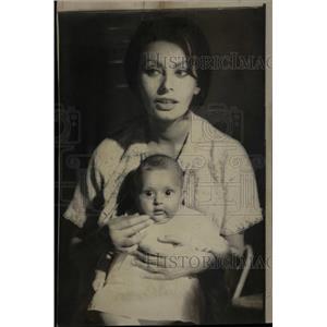 1967 Press Photo Sopjhia Loren Italian Actress - RRW10779