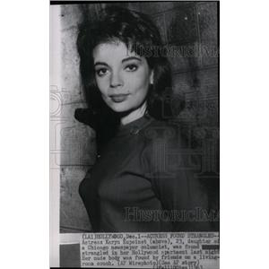1963 Press Photo Karyn Kupcinet - RRW99619