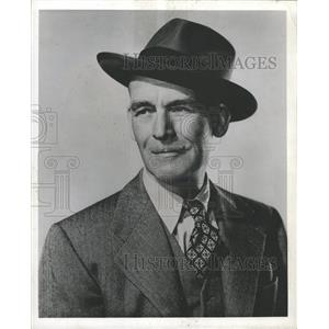 "1949 Press Photo James ""Jimmy"" Gleason - RRW33335"