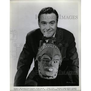 1958 Press Photo Jack Lemmon American Actor - RRW14063