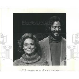 1977 Press Photo Irene Worth - RSC46367