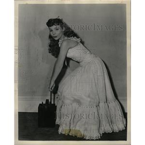 1953 Press Photo Theresa Brewer On Comedy Hour - RRW16307