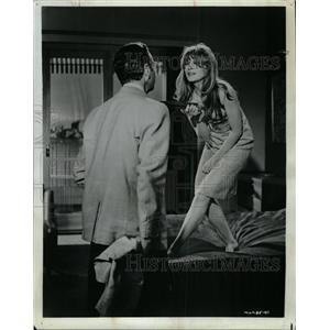 1966 Press Photo Francoise Dorleac French Film Actress - RRW08539