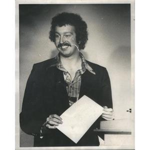1976 Press Photo Actor Steve Fletcher Joseph Jefferson Theater Citation