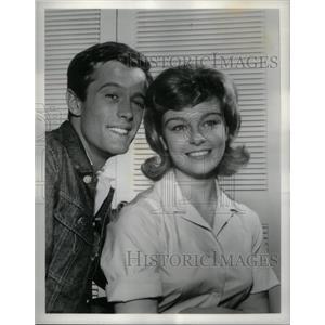 1962 Press Photo Peter Fonda Patty McCormack New Breed - RRX32727