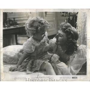 1950 Press Photo Actress Mary Martin Of Broadway Smash South Pacific - RSC08821