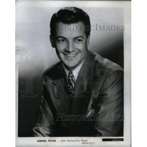 1953 Press Photo Cornel Wilde American Film Actor - RRX57149