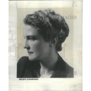 1943 Press Photo Helen Lombard Wartime Washington Actress- RSA73495