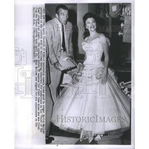 1955 Press Photo Singer Marion Marlowe - RSC00259