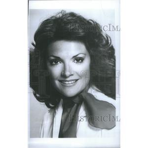 1977 Press Photo TRISHA NOBLE AUSTRALIAN SINGER ACTRESS - RSC57671