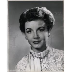 1950 Press Photo Janet Blair - RRW20951