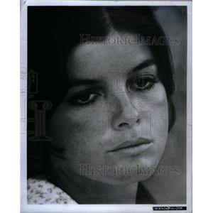 1969 Press Photo Katharine Ross Film Stage Actress Mich - RRX37875