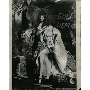 1933 Press Photo King Louis XIV France Royal Family - RRX64639