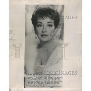 1963 Press Photo Arline Judge American Movie Actress - RSC18517
