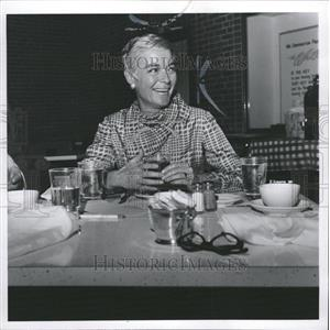 1967 Press Photo Nan Grey American Film Actress - RRW30381