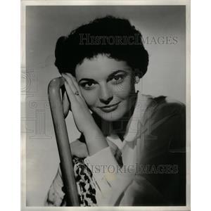 1954 Press Photo Anne Bancroft American Film Actress - RRX27529