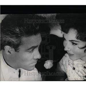 1962 Press Photo Jason Robards & Jennifer Jones Star