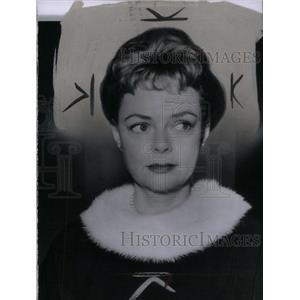 1958 Press Photo June Lockhart American Actress - RRX41103
