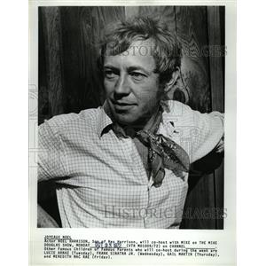 1972 Press Photo Noel Harrison English Actor and Singer - RRW15629