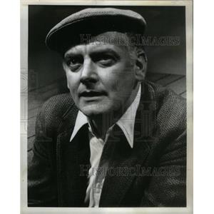 1968 Press Photo Art Carney artist Lovers Auditorium - RRX26433